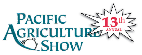 Pacific Agricultural Show 13th Annual logo