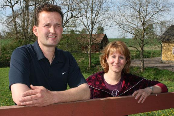 Stefan and Karin Lowenborg